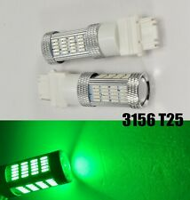 Reverse Backup Light 92 SMD LED Bulb Green T25 3156 3456 B1 #1 For Buick Mazd