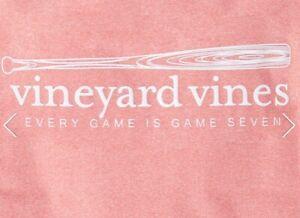 NWT Vineyard Vines Boys Baseball S/S Performance T-Shirt Size 7