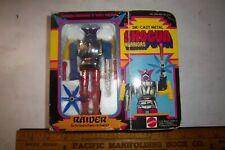 """Mattel Shogun Warriors 5"""" Raider 1977 In Box Complete 2105 2107"""