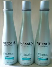 3 Nexxus Promend Shampoo for Hair Prone to Split Ends Flax Seed Oil 13.5 oz New