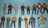 Star Trek Playmates Action Figures LOT of 15
