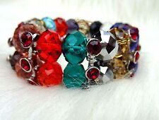 Beautiful Multi Color Beads Bracelet Jewellery Gift for Ladies Women