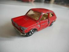 Majorette Fiat 127 in Red