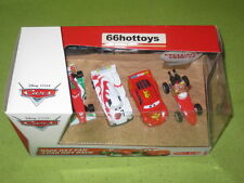 Disney Pixar Cars Race Day Fan 4-Car Gift Pack Mama Bernoulli 2012 New