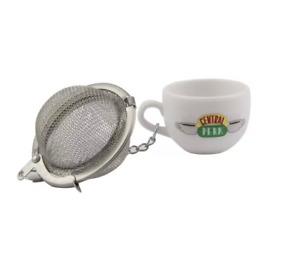 Tea Infuser Stainless Steel Loose Leaf Central Perk Friend Series xmas Gifts