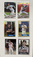 Dansby Swanson Rookie Card Lot x6 Topps 2017 RCs - Atlanta Braves