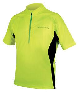 Endura Xtract II Short Sleeve Jersey Yellow XXL TD014 QQ 11