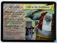 Harry Potter TCG Base Set Troll in the Bathroom FOIL 19/116