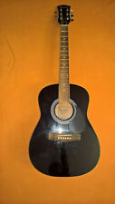 gibson MAESTRO Parlor Acoustic Guitar MA38 BLACK 38inch junior 1headstock ding