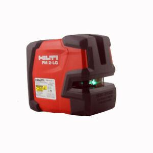 New  Hilti Green laser level PM 2-LG Line laser Laser line projectors