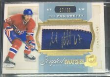 2014-15 THE CUP - MAX PACIORETTY - SCRIPTED SWATCHES PATCH AUTO - #17/35