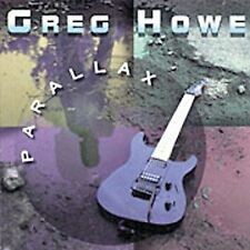 Parallax by Greg Howe (CD, Nov-1995, Shrapnel)