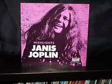 JANIS JOPLIN HIGHLIGHTS – RARE UK CD