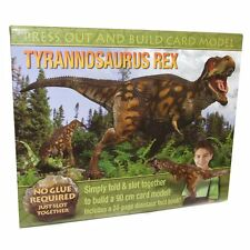 Make Your Own 2.ft Card Tyrannosarus Rex Dinosaur Model - Fun Craft Toy