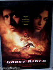 Cinema Poster: GHOST RIDER 2007 (One Sheet) Nicolas Cage Peter Fonda Eva Mendes