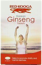4 X Red Kooga Ginseng Coreano 32 tabletas