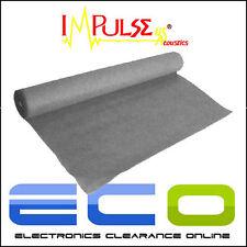 CAR AUDIO GRIGIO CHIARO Acoustic Carpet 1 MTR X 2 Mtr circa dimensioni