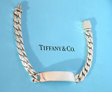 Tiffany & Co Mens ID Sterling Silver Identity I.D. Bracelet