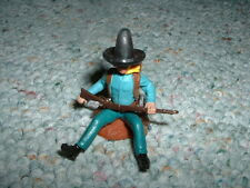 Britains Old Swoppet  1/32 54mm Cowboy sitting against post 10 gallon hat Type 1