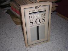 1935.Indochine SOS / andrée Viollis.envoi autographe.bon ex