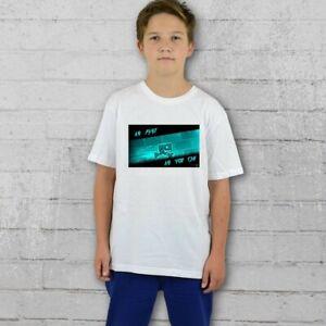 Geometry Dash FAST T-shirt Girls Boys Tee - Personalised Free age 5-15