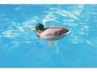 "Swimming Pool Duck Floating Chlorine Dispenser For 1"" & 3"" Tablets"