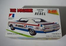 1970 AMC Rebel  JoHan 1:25 The Machine Model Kit   C-2670  unbuilt in Box