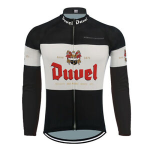 Duvel Beer Cycling Jersey Long Sleeve