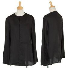 (SALE) Yohji Yamamoto NOIR Linen design jacket Size About  M(K-24115)