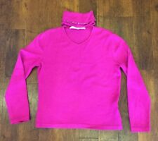 Ladies Barbara Taddei Pink Jumper with Pink Crystal embellishment Size uk 16