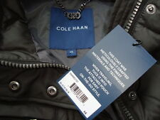 NWT COLE HAAN Light Weight 90% Down Long Coat Jacket With Travel Pouch Sz XS