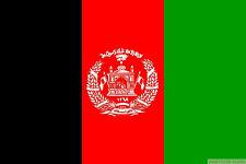 """AFGHANISTAN mini flag 9"""" x 6"""" 22cm x 15cm flags"""