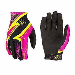 O'Neal Matrix RACEWEAR Men's Cycling Full Finger Gloves Pink Size XL
