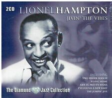 LIONEL HAMPTON - JIVIN' THE VIBES - 36 TRACKS  2CD SET - FREE POST IN UK