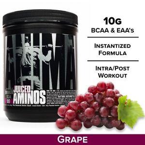 Universal Nutrition Animal Juiced Aminos (377 G) Grape Juiced Enhanced BCAA Stak