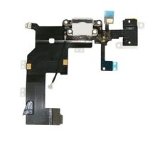 iPhone 5 Ladebuchse Flex Audio Jack Buchse Mikrofon Kabel Kofhöreranschluss Weiß