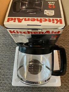 12 cup Glass Carafe KitchenAid Coffee Maker KCM12COB New In Box