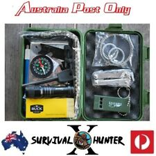 10pc Survival kit hiking camping boating hunting outback back packing
