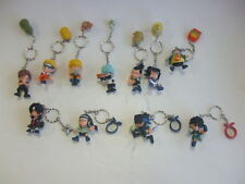 Lot of 11 Naruto Character Keychains