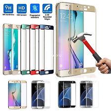 Cristal Templado Curvo para Samsung Galaxy S7 S8 Edge Plus Protector Vidrio