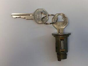 NEW 1940-1947 Chevrolet Passenger Car Ignition Lock cylinder- Original GM Keys