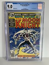 Marvel Spotlight 28 CGC 9.0 1st Solo Moon Knight Story