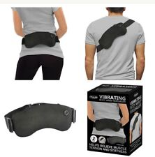 NEW Vibrating Adjustable Body Wrap Massager Relieves Muscle Tension & Stiffness