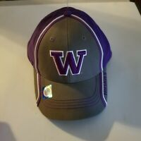 Washington Huskies NCAA Adjustable Strapback Hat, New