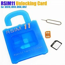 R-SIM 11 Nano Cloud Unlock Card iOS7-iOS10 For iPhone 5/5S/5C/6/6S/7/7S/7 Plus