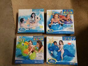 Intex Wet Set Inflatables Lot 2007-2011