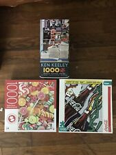 1000 Piece Jigsaw Puzzles (Lot Of 3)