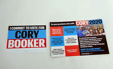 Cory Booker For President 2020 Official Campaign Literature Lot