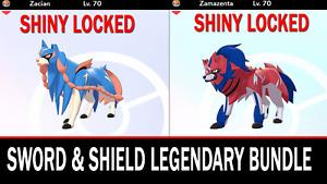 Pokemon Sword & Shield 6IV Zacian & Zamazenta Battle Ready!![Fast Delivery]