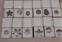 Famous Badges of the Old West Marshal Sheriff Replica Badge lot of 12 NEW in box